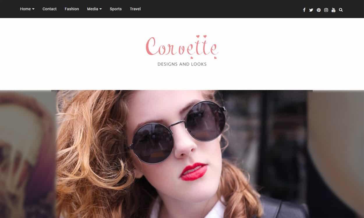 Corvette - WordPress Multipurpose Theme