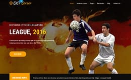 Soccer - Premium WordPress Sports Theme