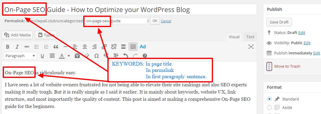 using-keywords