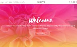 Shoppe - Premium WordPress WooCommerce Theme