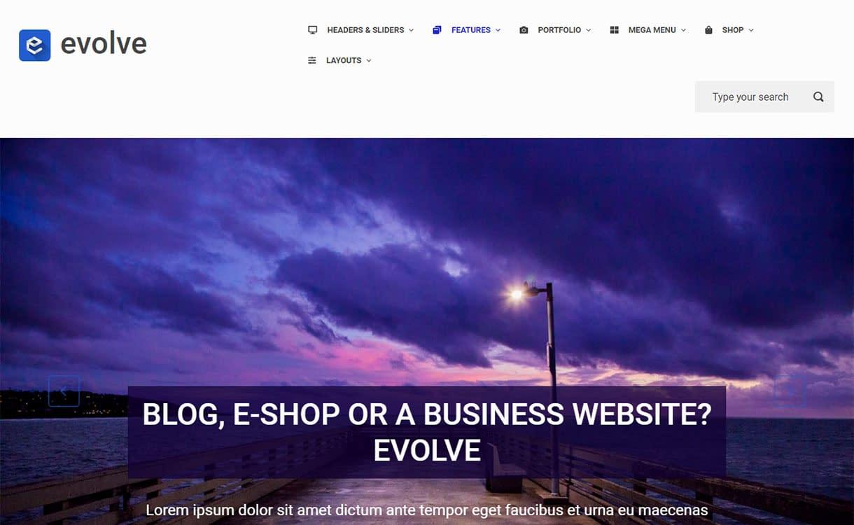 evolve-best-free-buddypress-wordpress-theme