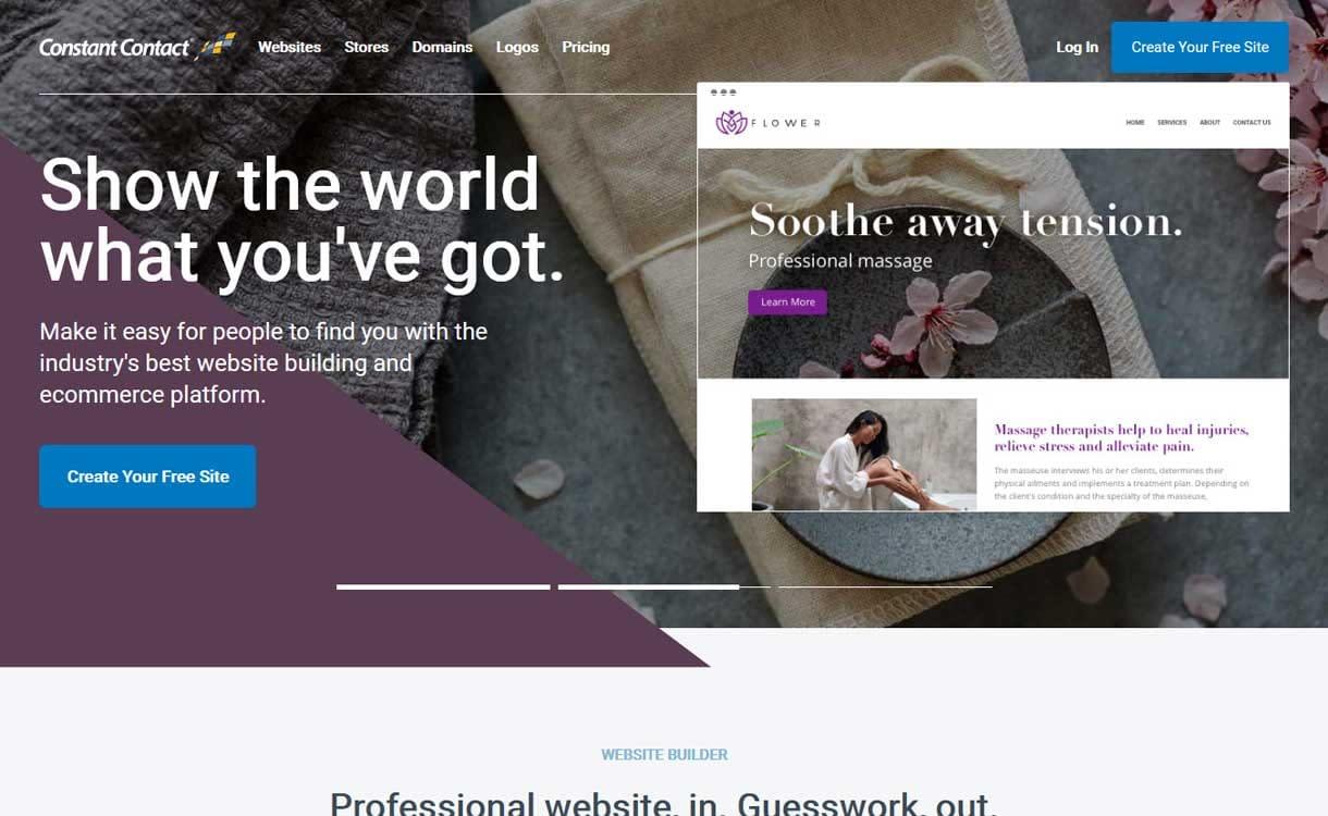 Constant Contact Builder - Best Blogging Platforms