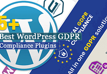 Best WordPress GDPR Compliance Plugins