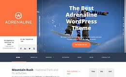 Adrenaline - Premium WordPress Sports Theme