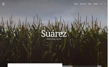 Suarez - Creative WordPress Blog Theme