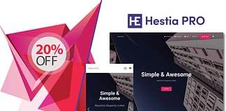 Hestia WordPress Theme Discount