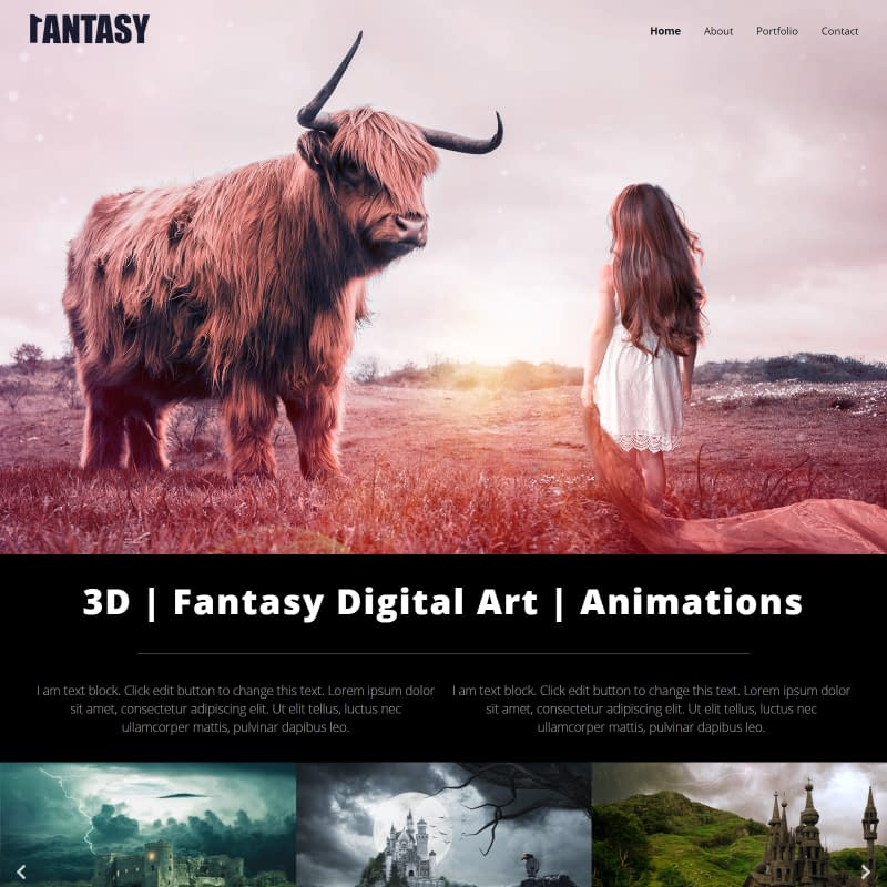Fantasy - Elementor WordPress Theme