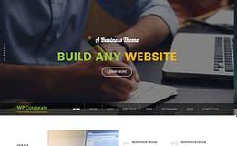 WP Corporate -Best free WordPress Business Theme 2017