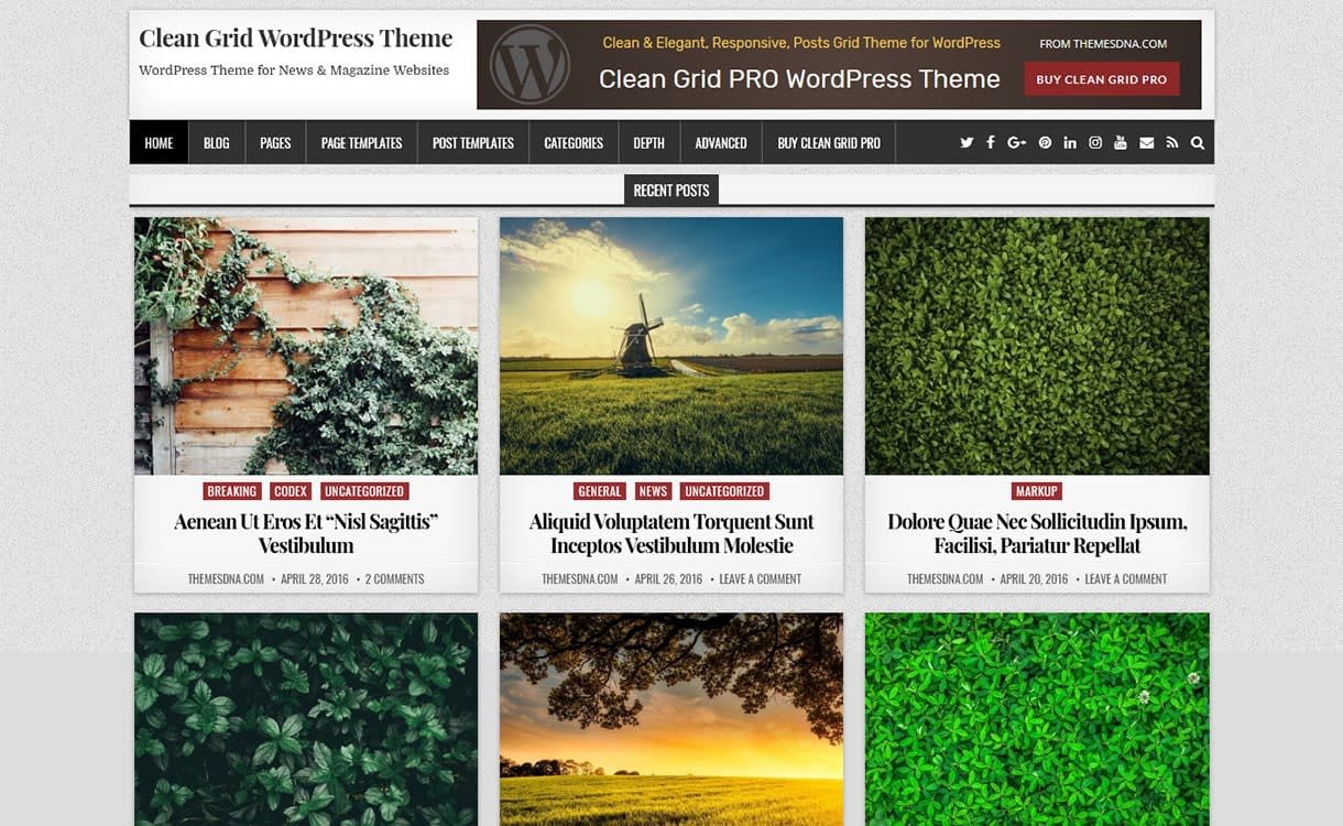 clean-grid-best-free-minimal-wordpress-theme