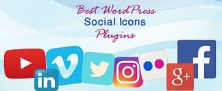 Best WordPress Social Icons Plugins