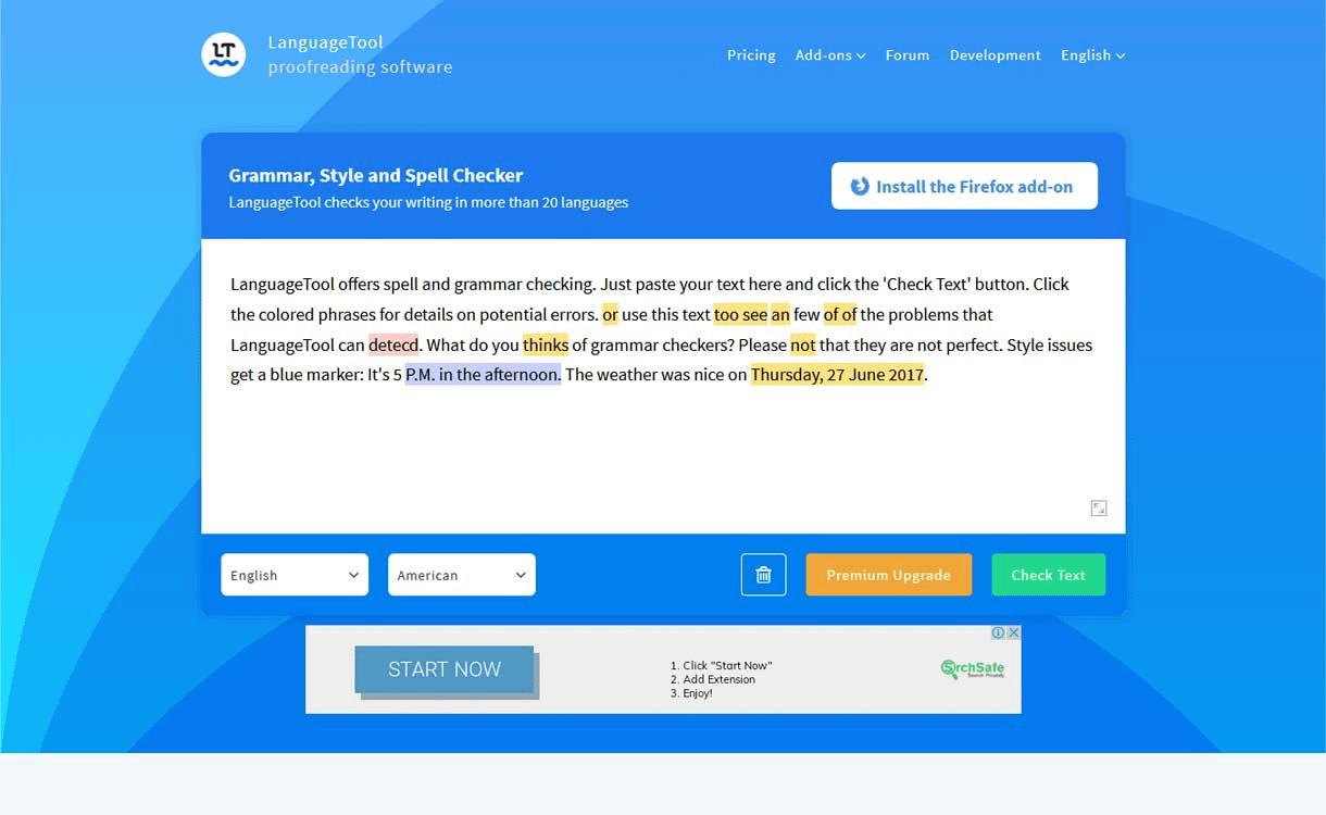 LanguageTool - Best Online Grammar Tool