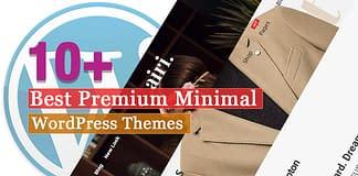 Best Premium Minimal WordPress Themes