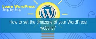 How to set the timezone of your WordPress website?