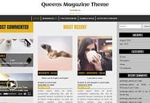 Queens Magazine Theme