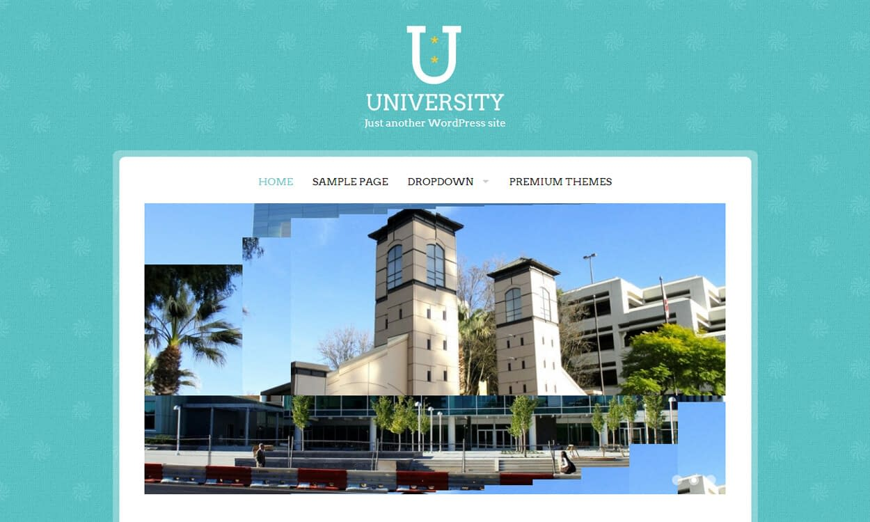 University - Best Education School College WordPress Themes and Templates (Free)