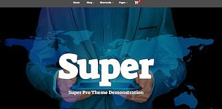 Super - Free Multipurpose WordPress Theme