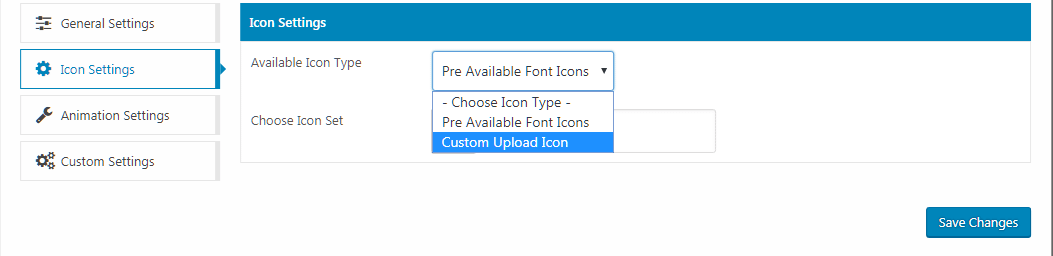 WP Menu Icons – Icon Settings