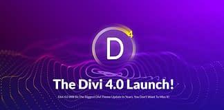 Divi 4.0 Launch