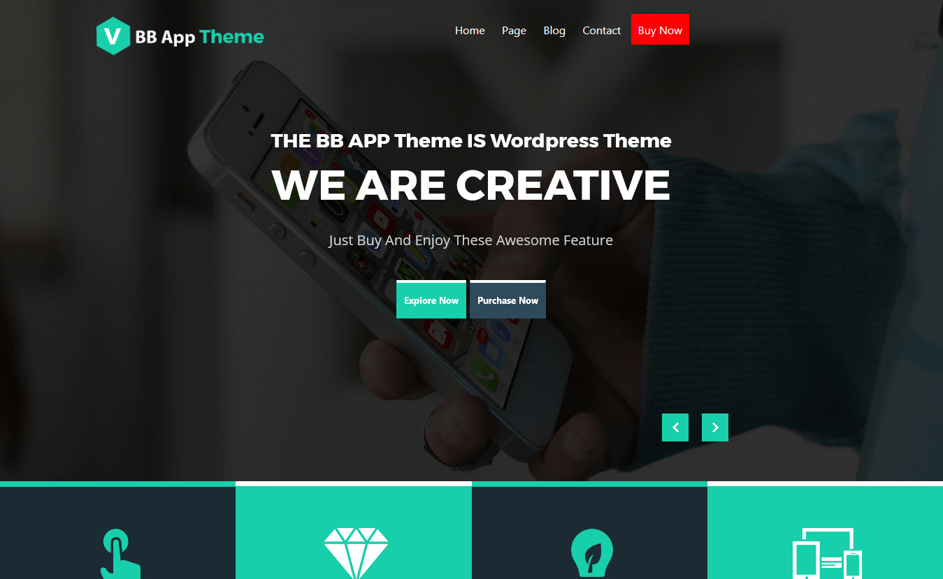 10+ Best Free Mobile App WordPress Themes