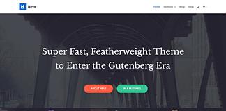 Neve - Free WordPress Multipurpose Theme