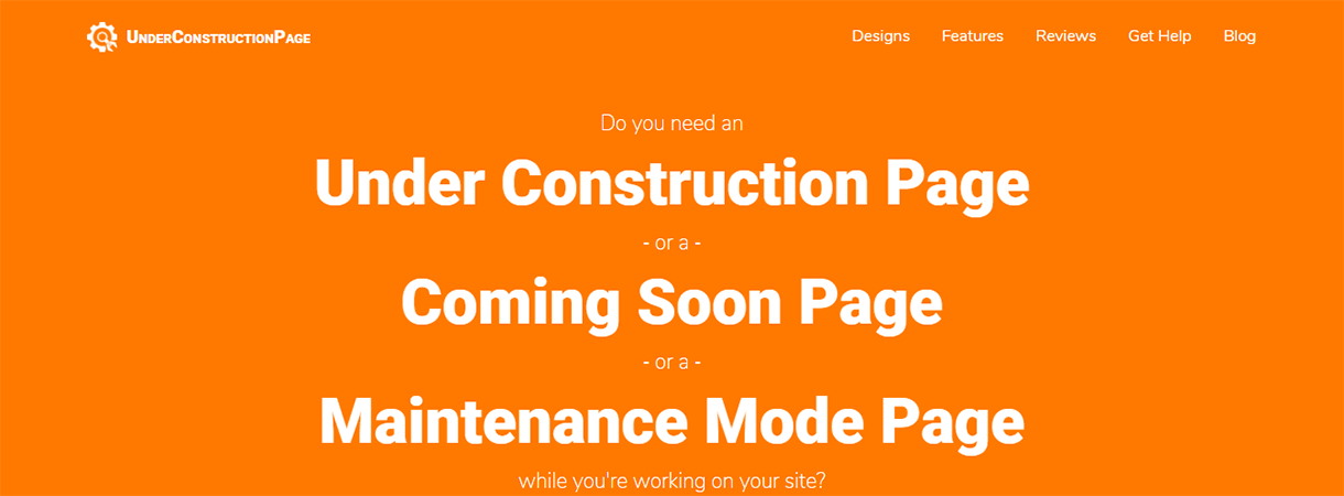 UnderConstructionPage Pro - Best WordPress Christmas and New Year Deals