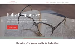 LawyeriaX - Premium Attorney WordPress Theme
