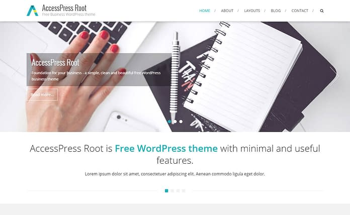 AccessPress-root-free-wordpress-theme