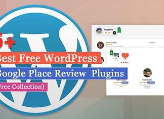 Best Free WordPress Google Place Review Plugins