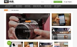 REHub: Premium WordPress Multipurpose Hybrid Theme