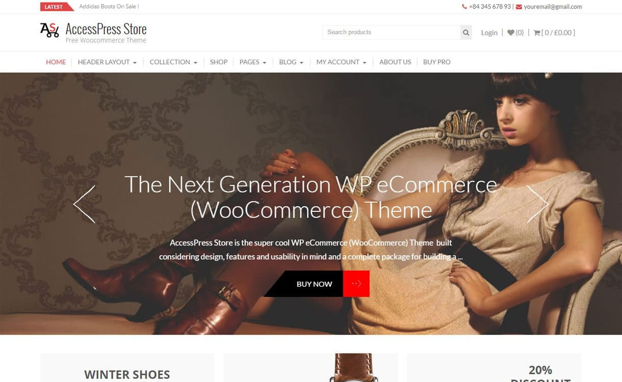 AccessPress Store - Best Free WordPress eCommerce/Online Store/WooCommerce Themes