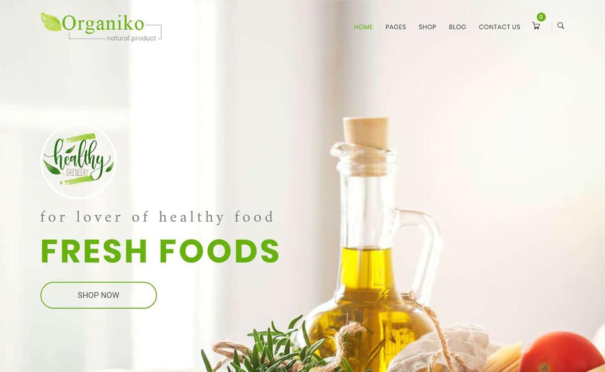 organiko-best-premium-gdpr-friendly-wordpress-theme