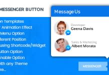WP FB Messenger Button - Premium WordPress Messenger Button Plugin
