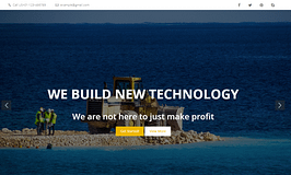 Quality Construction- Free Construction WordPress Theme