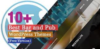 Best Free Bar and Pub WordPress Themes