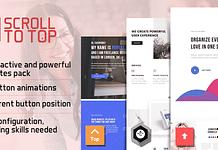 Smart Scroll to Top - WordPress Scroll to the Top Plugin
