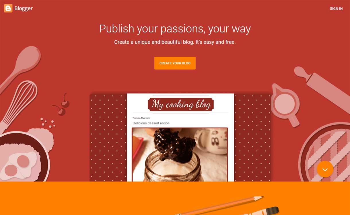 Blogger - Best Blogging Platforms