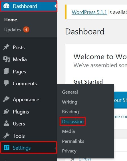 Enable comment in WordPress page and post