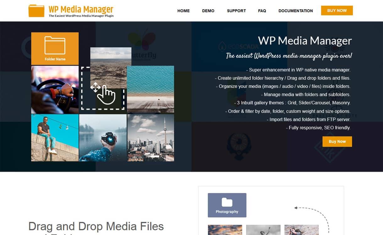 WP Media Manager - WordPress Media Manager Plugins