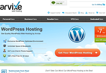 Arvixe - Cheapest Hosting for WordPress
