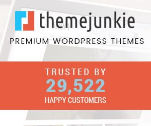 theme junkie wordpress theme