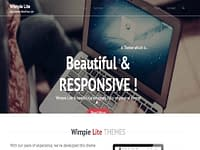 Wimpie Lite - Free WordPress Theme