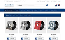 SparkleStore - Fully Customizable WordPress Theme