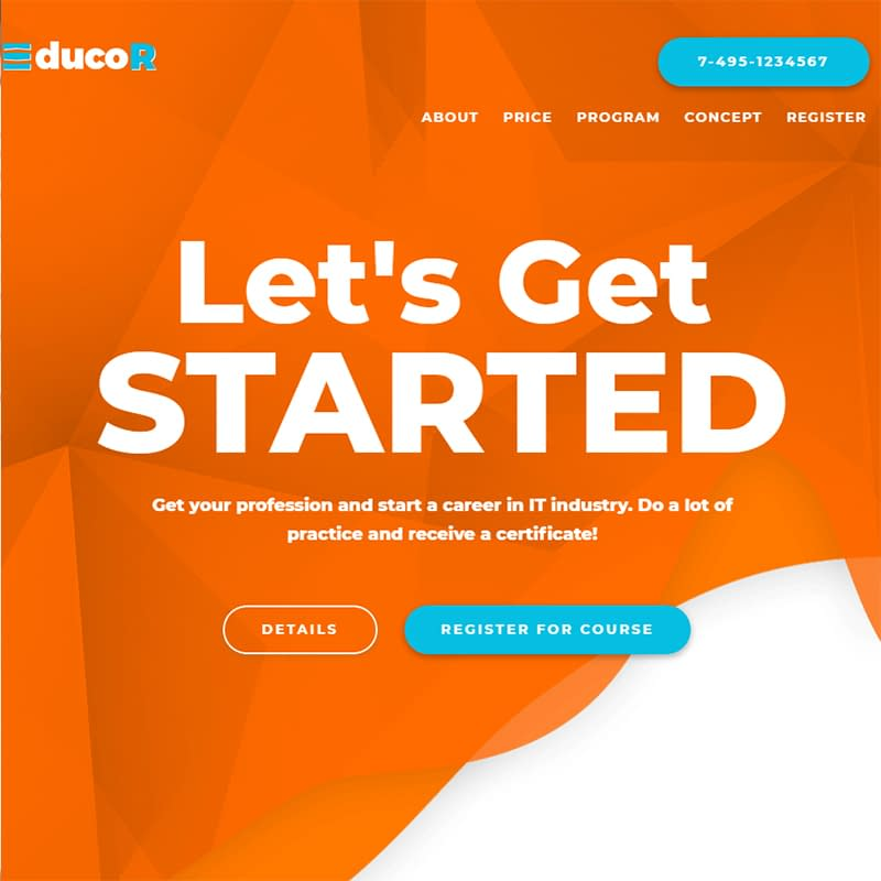 Educor - Education Courses Elementor WordPress Theme