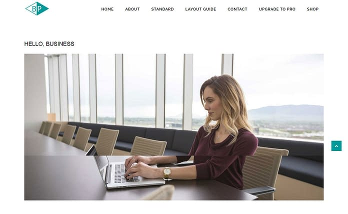 Business Park - Free Business WordPress Themes