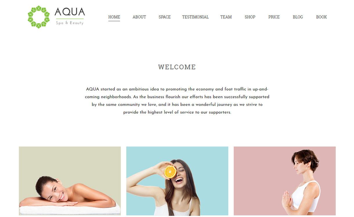 aqua-best-premium-spa-beauty-wordpress-theme