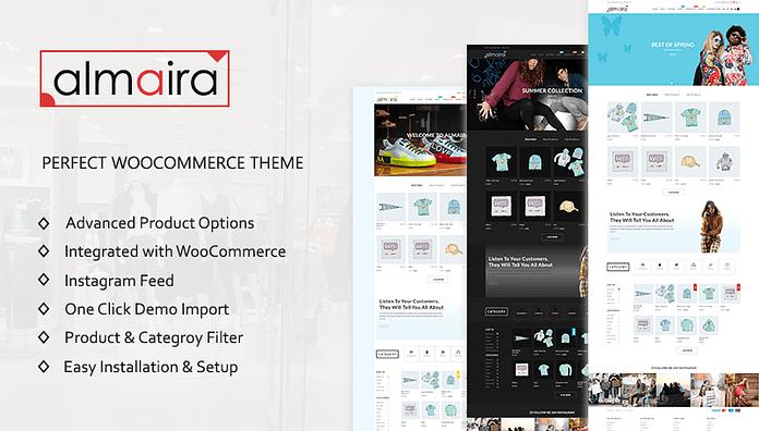 Almaira Shop - Online Store WordPress Theme