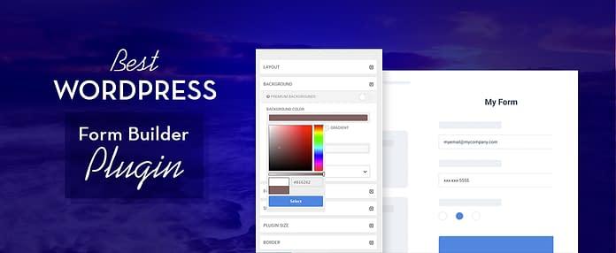 Best Free WordPress Form Builder Plugins
