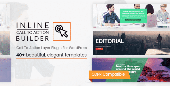 Inline CTA Builder - WordPress Call to Action Builder Plugin