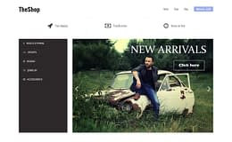 TheShop - Free eCommerce WordPress Theme