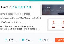Everest Counter -Beautiful Stat Counter WordPress Plugin